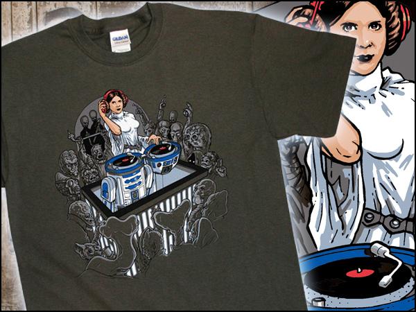 DJ Leia Shirt