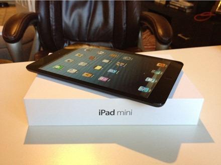 iPad mini and box