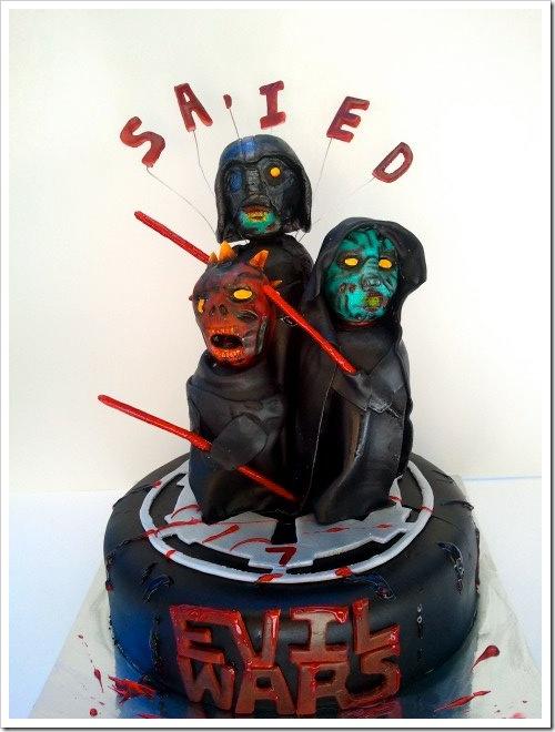 Zombie Star Wars Cake