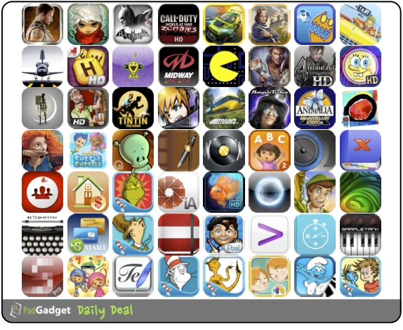 PadGadget Daily App Deal - 56 iPad Apps on Sale