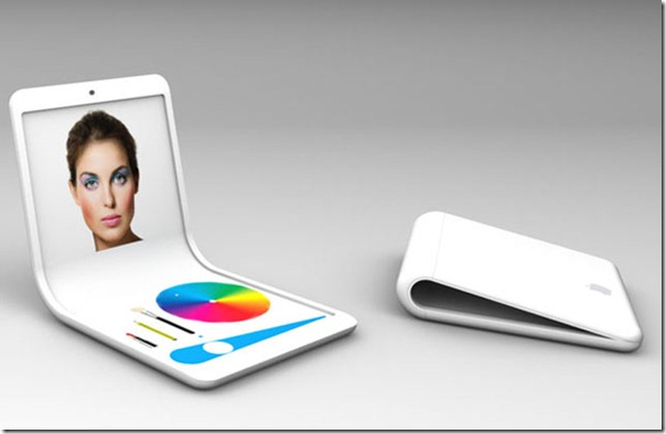 Future technology iflex phone concept and new technology