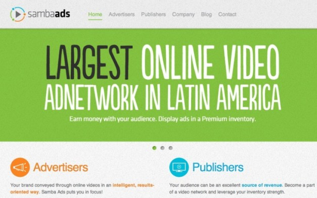 samba ads home 730x458 Samba Ads raises $500k, hopes to become Latin Americas leading video ad network